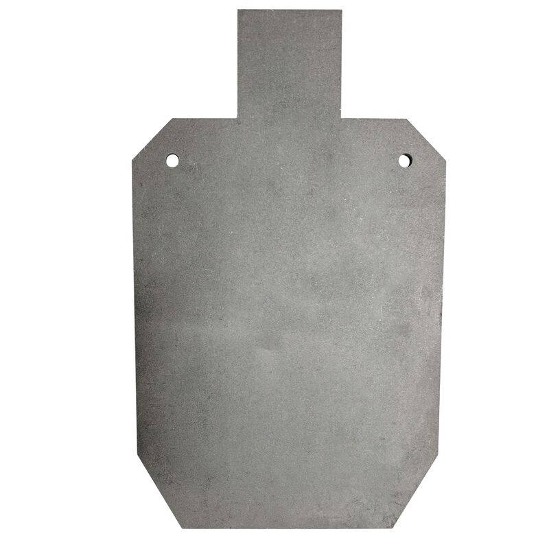 """AR500 Silhouette Steel Plate Shooting Target 20""""x12"""" 1/2"""" Thick"""