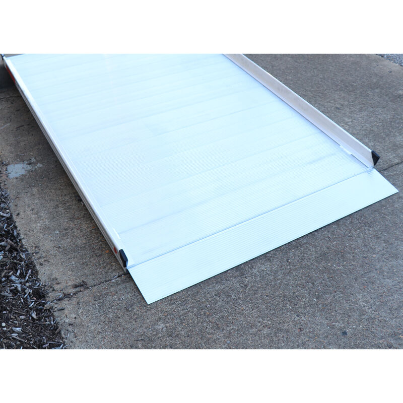 "6' Aluminum Wheelchair Entry Ramp Only | 48"" Wide"