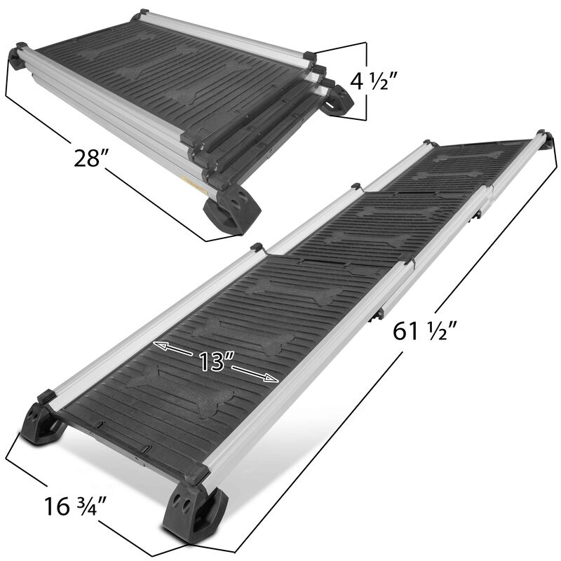 Aluminum Telescoping Collapsible Pet Ramp