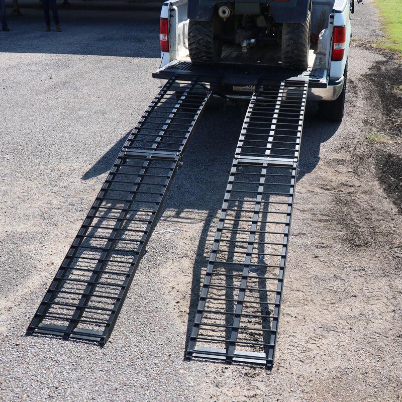 10' UTV Heavy Duty Folding Arch Ramps