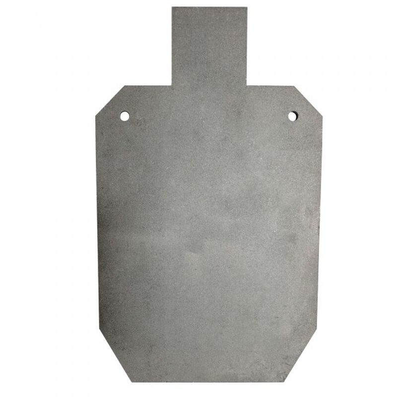 """AR500 Silhouette Steel Plate Shooting Target 20""""x12"""" 3/8"""" Thick"""