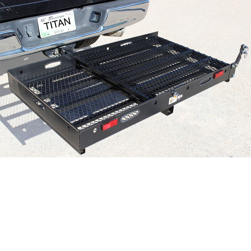Hitch Mounted Wheelchair Mobility Rack Ramp MC500