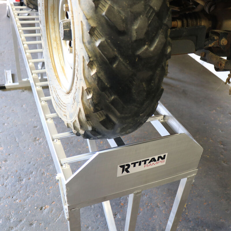 Aluminum ATV Stand| With Ramps