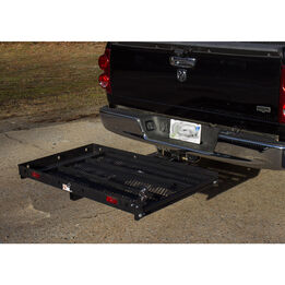 Hitch Mounted Mobility Carrier Medical Rack Ramp