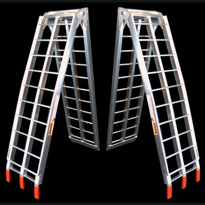 7.5 FT Aluminum ATV Loading Ramps - Pair