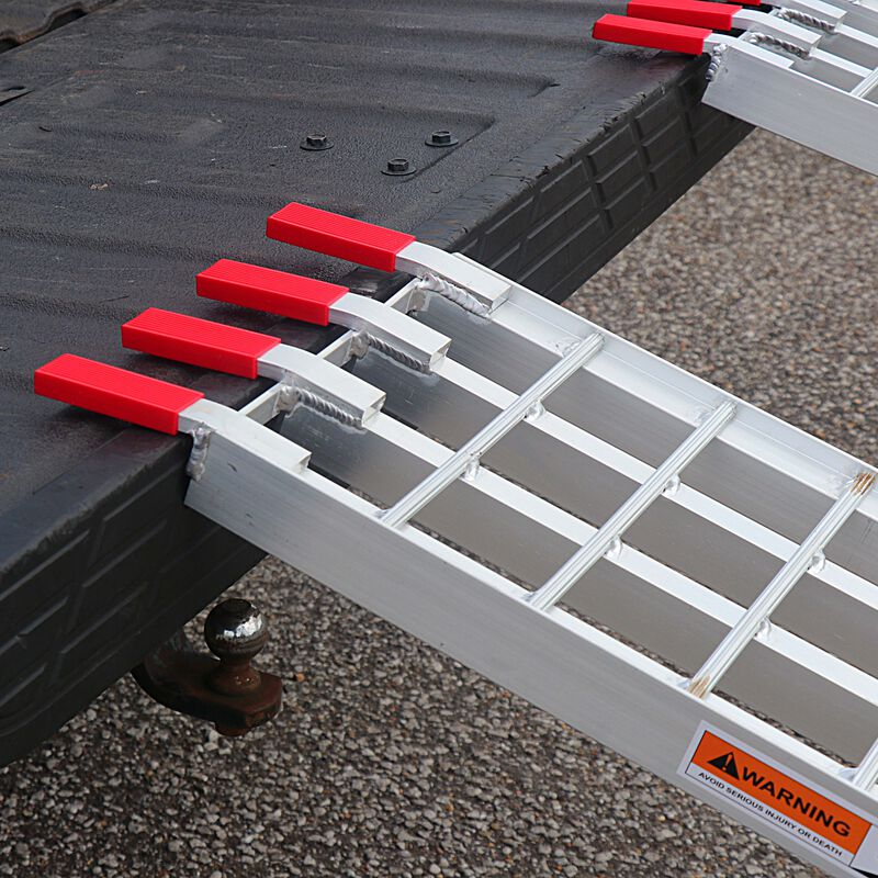 7.5' 4-Beam Arched Aluminum Ramps   Pair   ATV UTV