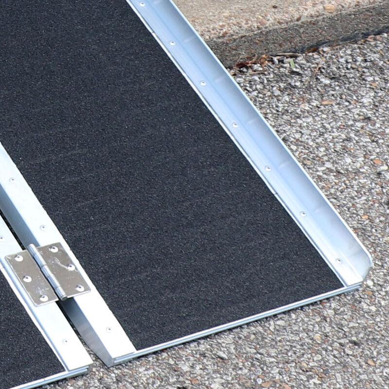 10 FT Multifold Aluminum Wheelchair Ramp