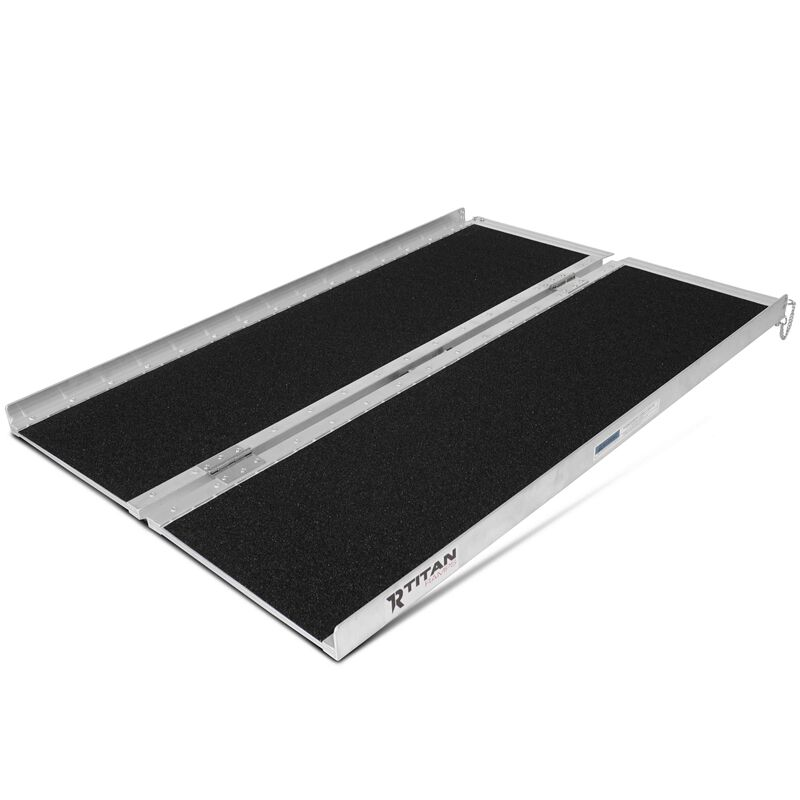 "4' x 30"" Portable Scooter Ramp for Wheelchairs & Powered Chairs"