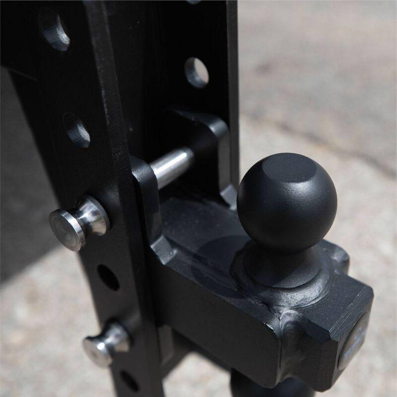 8-in Drop/Rise HD Dual Ball Mount 2.5-in Trailer Hitch