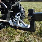 4 FT ATV Transformer Tow Frame With Landscape Rake Attachment