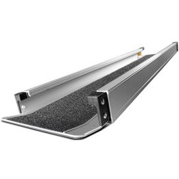 4 FT – 7 FT Aluminum Wheelchair Loading Ramp, Portable Scooter Access with Carry Bag