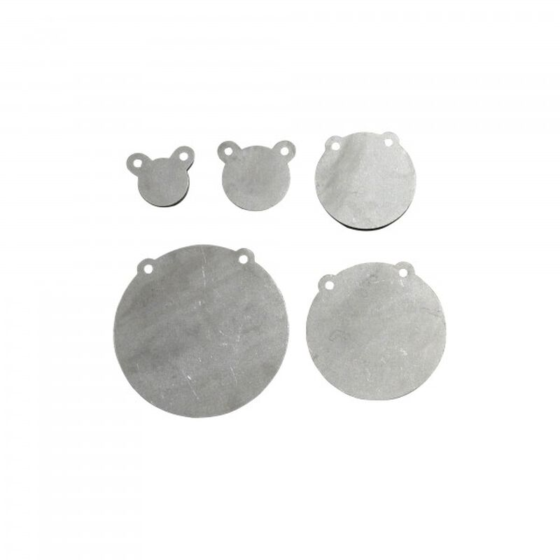 """Set of 5 AR500 Steel Shooting Targets 