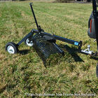 4' Landscape Rake Add On For Transformer Tow Frame – Attachment Only