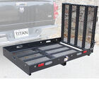 Hitch Mounted Wheelchair Mobility Rack Ramp