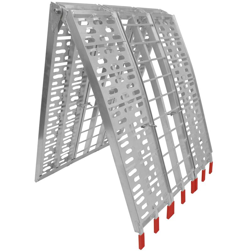 7.5 ft Harley Motorcycle Plated Loading Ramp