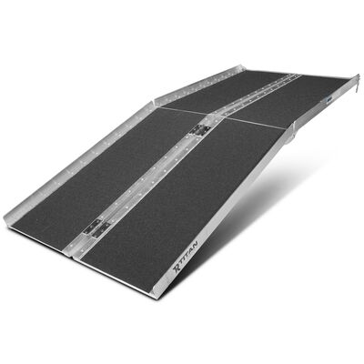 6' Multifold Aluminum Wheelchair Ramp