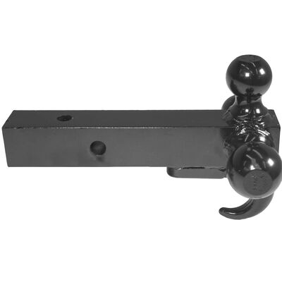 Triple Ball Trailer Hitch w/ Hook