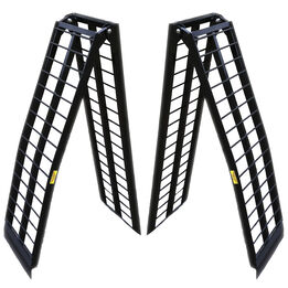 8 FT UTV Heavy-Duty Folding Arch Ramps