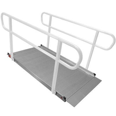 6' Aluminum Wheelchair Entry Ramp Only