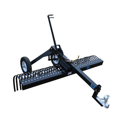 ATV Transformer Tow Frame With Landscape Rake Attachment | 6'
