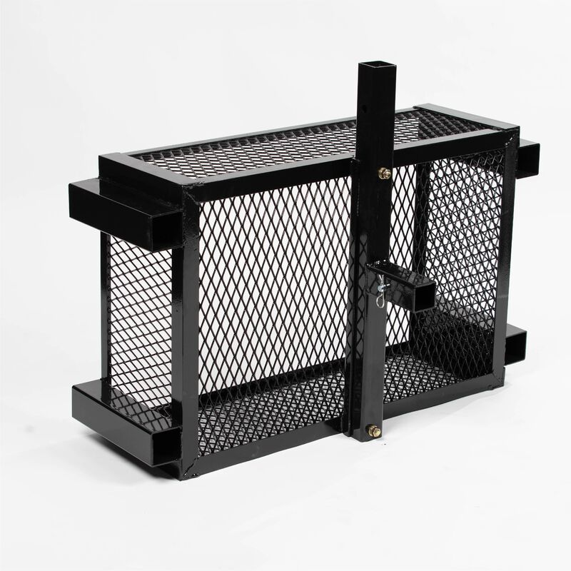 Hitch Mounted Mesh Carry Basket