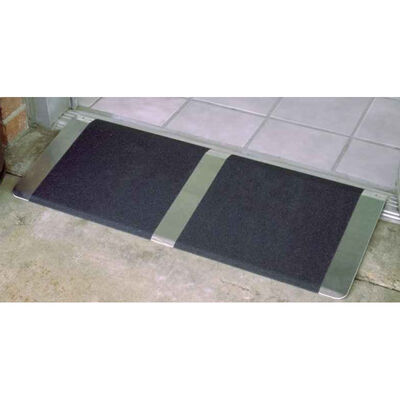"10"" x 32"" Wide Aluminum Threshold Ramp"