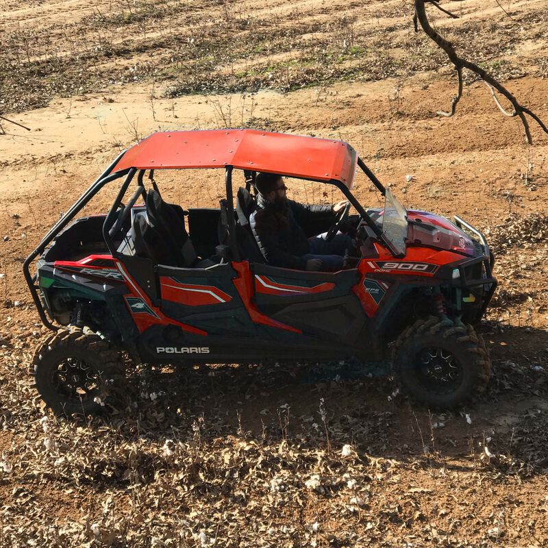 Red Aluminum Roof fits Polaris RZR 4-Door