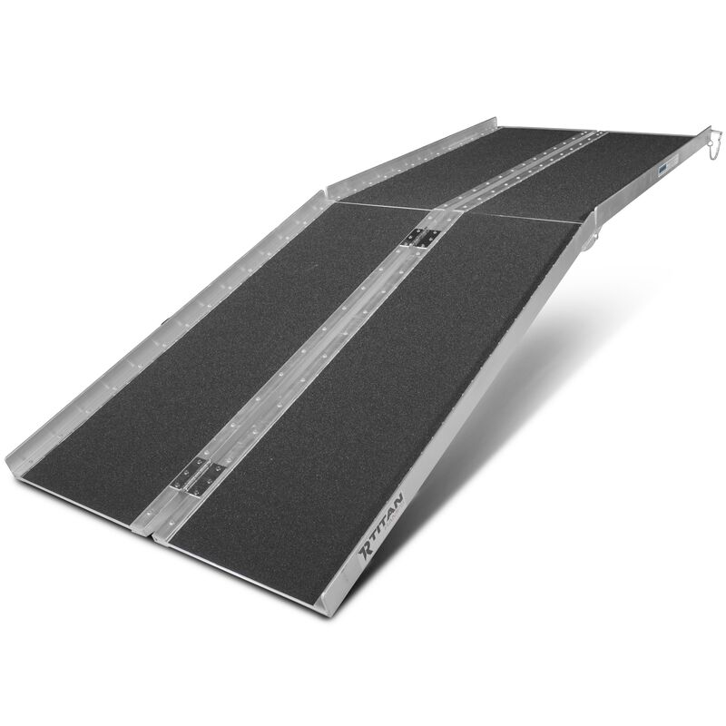 7' Multifold Aluminum Wheelchair Ramp