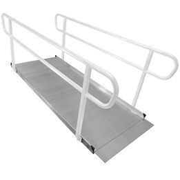 8 FT Aluminum Wheelchair Entry Ramp Only