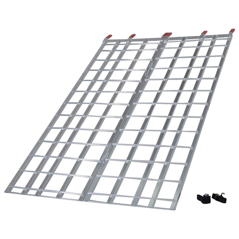 6' ft Bi-Fold Aluminum ATV Loading Ramp