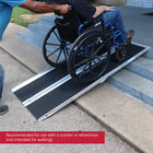 7 FT Multifold Aluminum Wheelchair Ramp