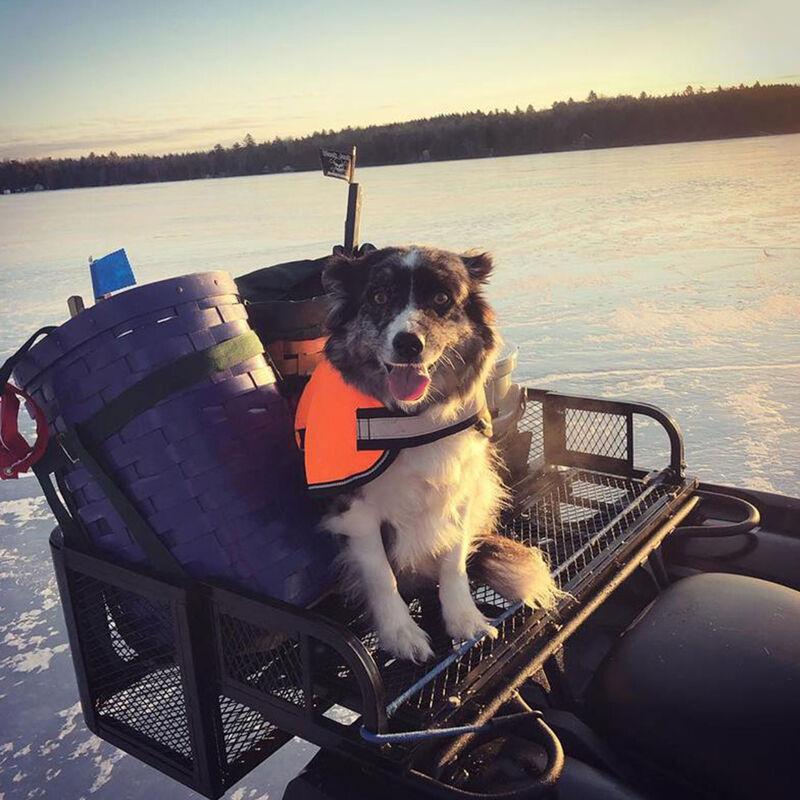 Rear ATV Mesh Rack Basket for Hunting, Fishing, and Trail Maintenance