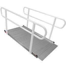 6 FT Aluminum Wheelchair Entry Ramp Only