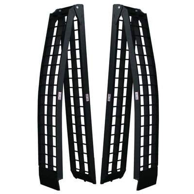 Pair of 10' Long Folding Arch Ramps