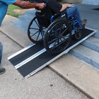 8' Multifold Aluminum Wheelchair Ramp