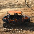 Orange Aluminum Roof fits Polaris RZR 4-Door