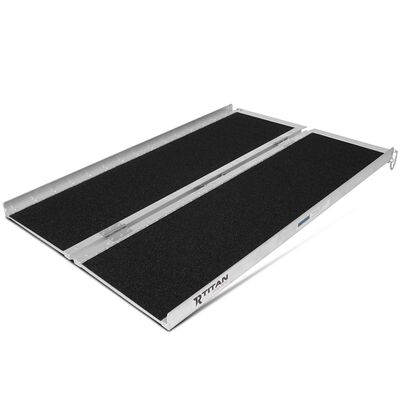 """4' x 30"""" Portable Scooter Ramp for Wheelchairs & Powered Chairs"""
