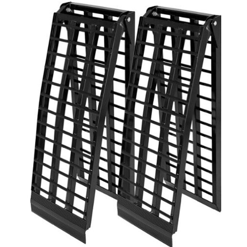 8' Long HD Wide 4 Beam UTV Ramps