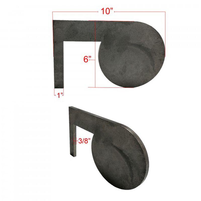 """(6) AR500 Dueling Tree Steel Targets 6"""" x 3/8"""" Swing Paddles"""
