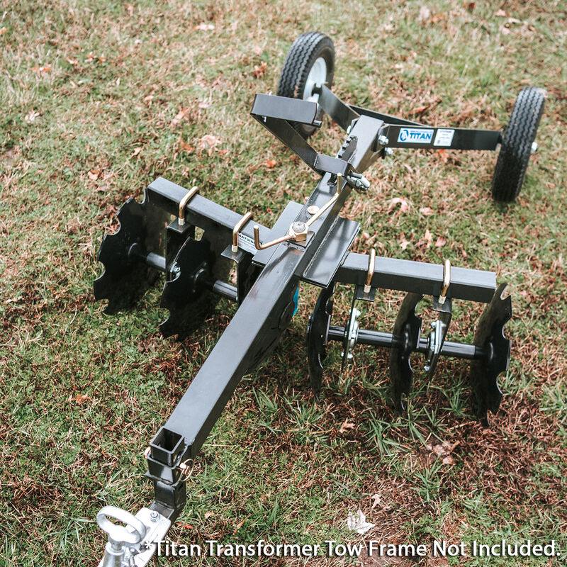 4' Notched Disc Harrow Add On For Transformer Tow Frame – Attachment Only