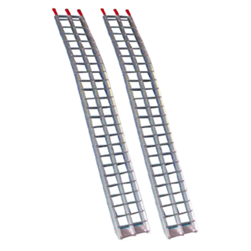 "91"" Aluminum Arched ATV Ramps - Non Folding 7.5'"