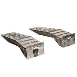 Heavy Duty Aluminum Semi Truck Riser Ramps | 20,000 LB Capacity