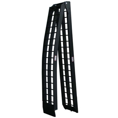 8 ft Aluminum Loading Ramp dirtbike motorcycle truck single ramp by Titan